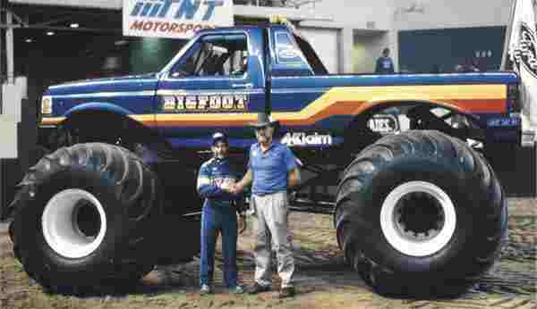 Bob Chandler with Big Foot Monster Truck