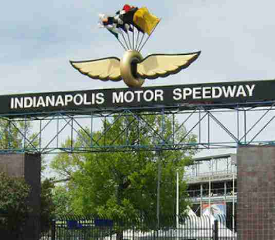 Front Entrance of Innianapolis Motor Speedway